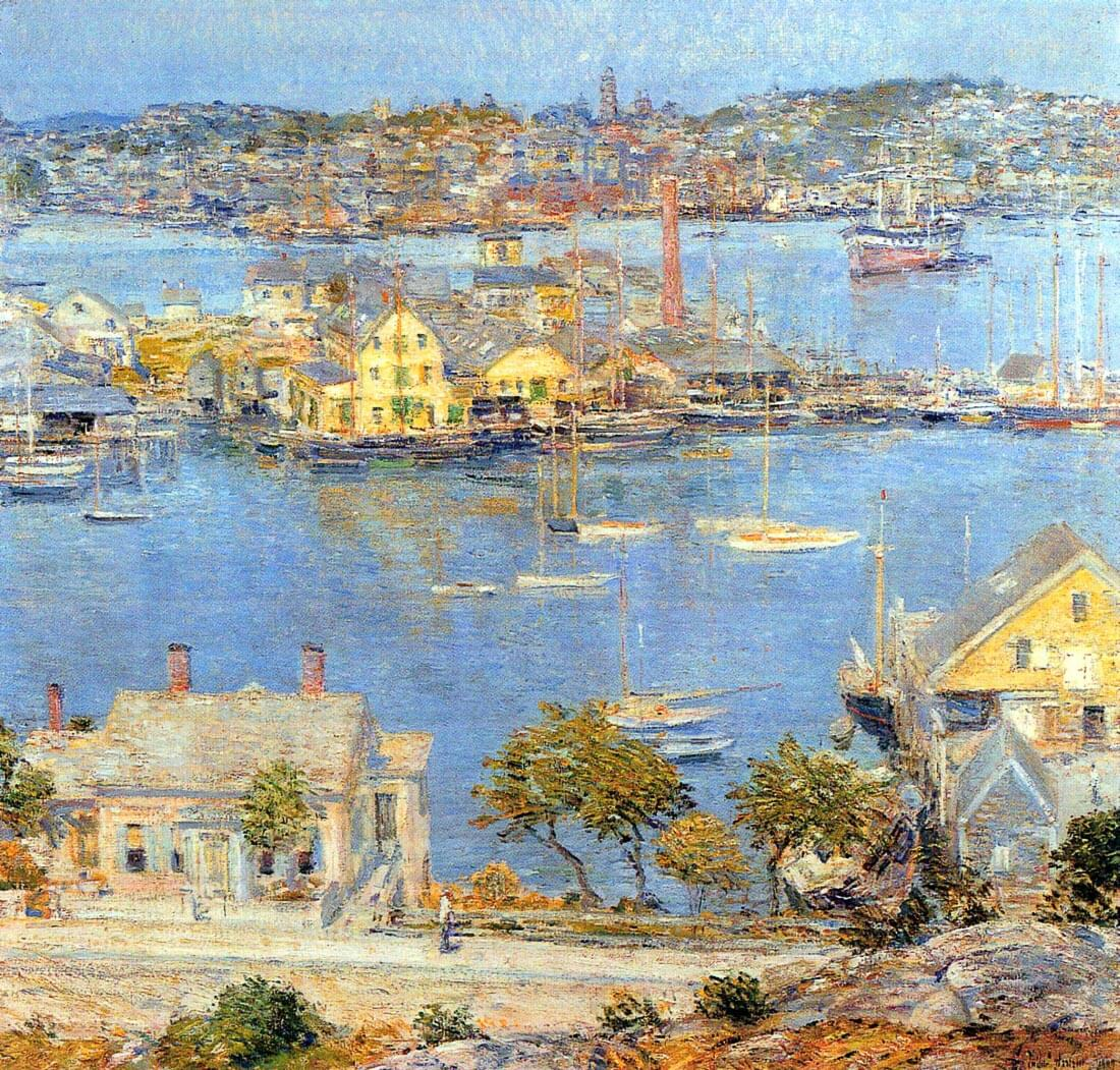 The port of Gloucester [1] - Hassam